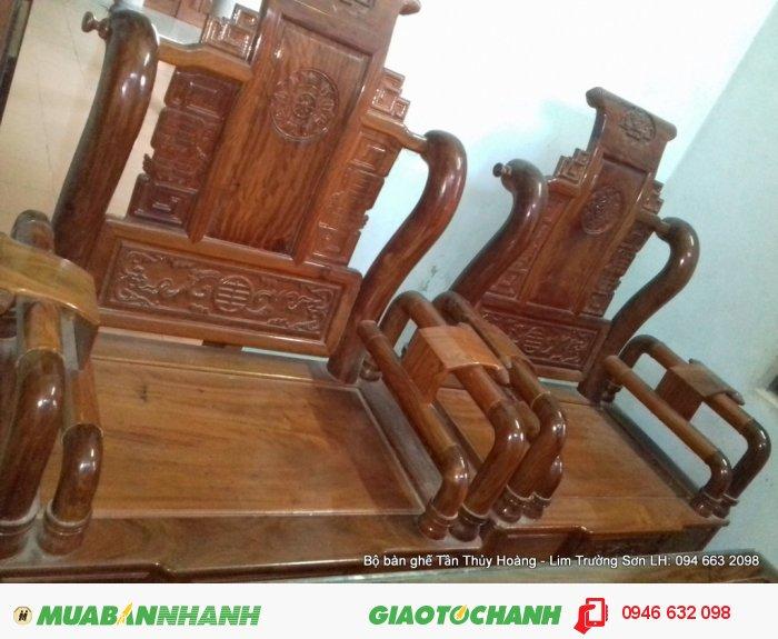 Bộ bàn ghế Tần Thủy Hoàng 7 món kích thước lớn3