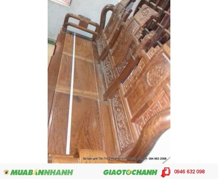 Bộ bàn ghế Tần Thủy Hoàng 7 món kích thước lớn4