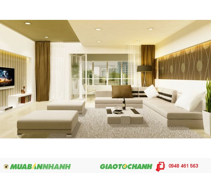 Cho thuê căn hộ Vạn Đô, Q.4, 55m2, 1pn, NTCB, 7.5 triệu/ tháng.