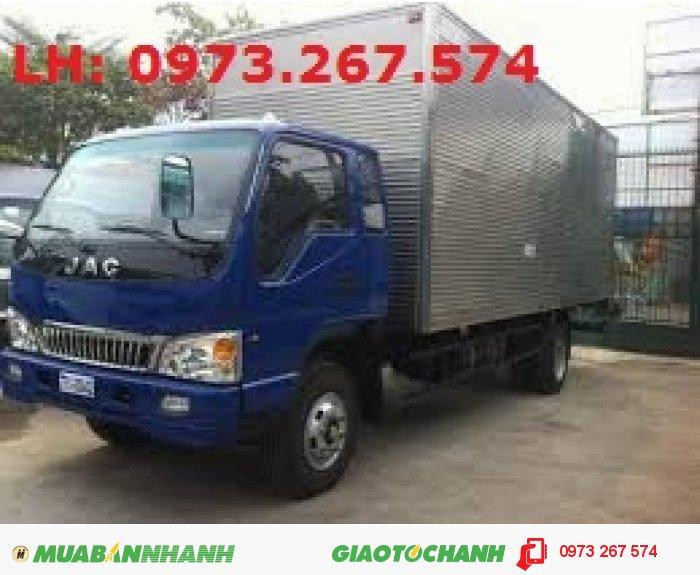 Đại lí bán xe tải JAC 6 tấn/ 6 tấn 4/ 6,4 tấn/6T4 may FAW nhập khẩu chính hãng 2015