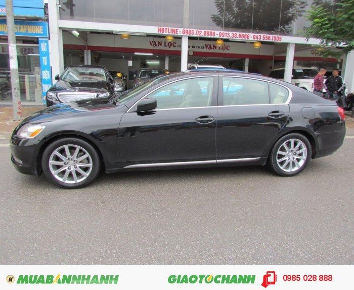 Xe Lexus GS300 2005 màu đen