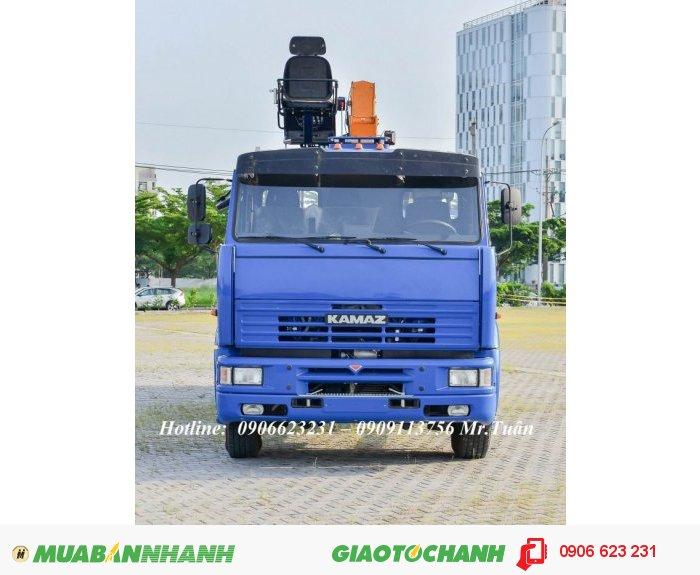 Kamaz sản xuất năm 2019 Số tay (số sàn) Xe tải động cơ Dầu diesel