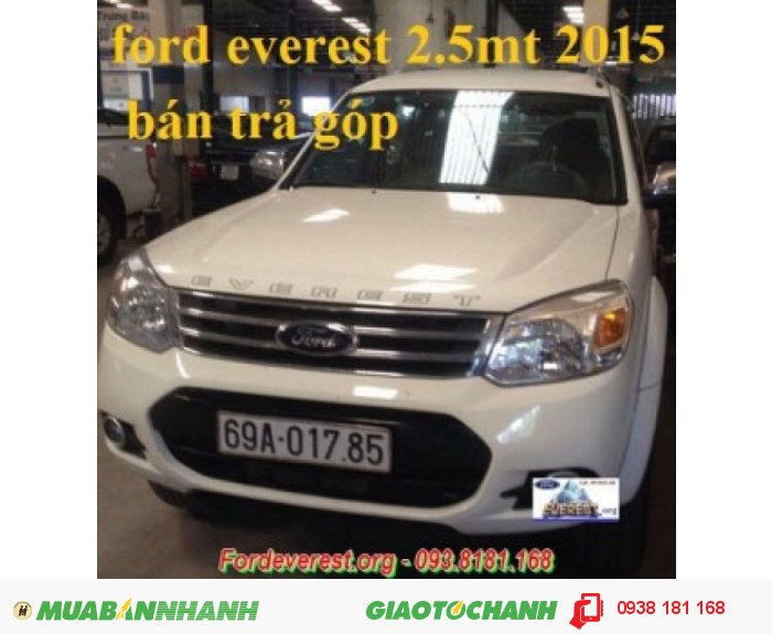 Ford Everest MT 2.5l 2014