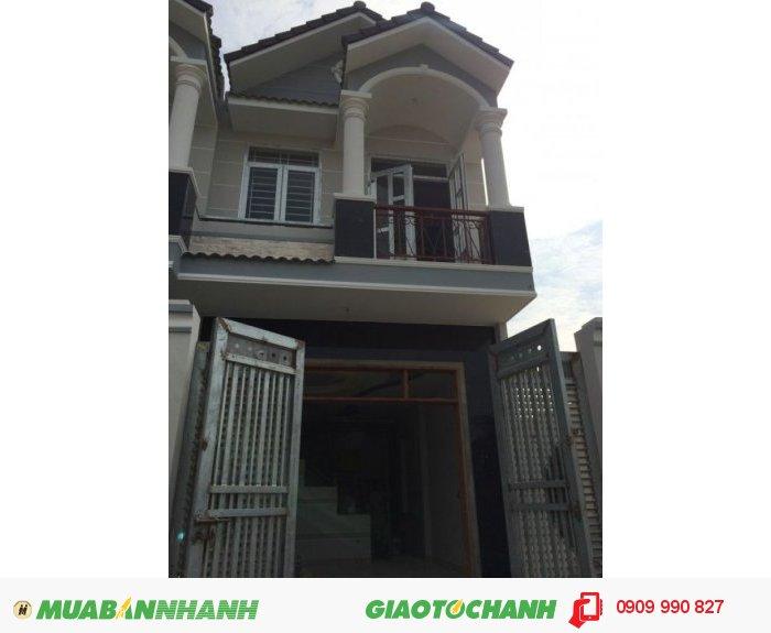 Nhà đúc 3 tầng, 850 triệu/ 85m2/2WC/3PN, Huỳnh Tấn Phát