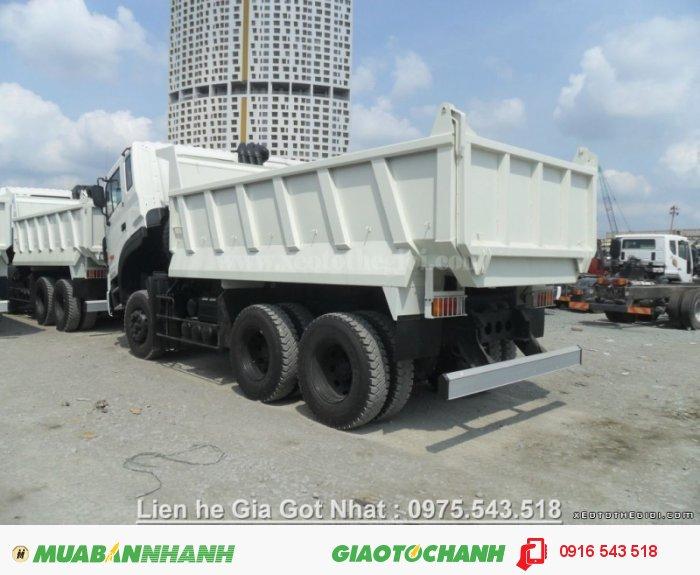 Xe ben Daewoo 10 khối, tải trọng 15 tấn, chất lượng bền bỉ, giao ngay! 3