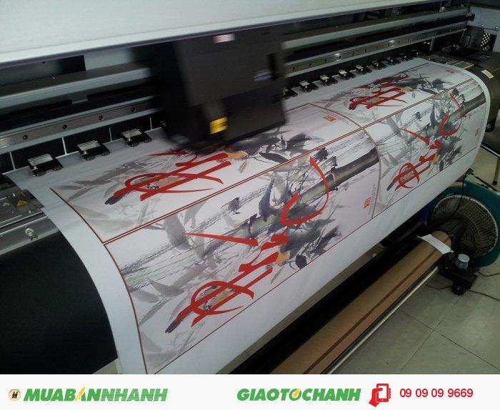 In silk số lượng lớn làm tranh treo tường tại In Kỹ Thuật Số | In silk mực dầ...