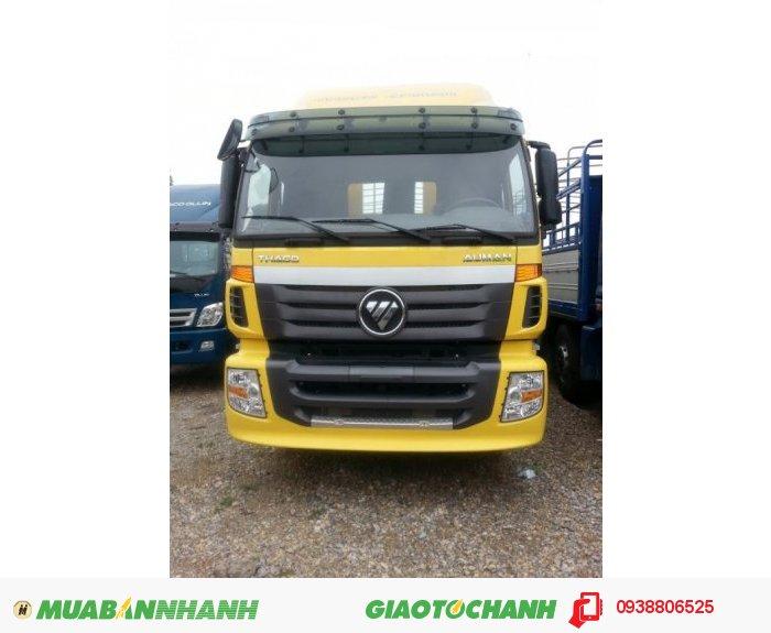 Xe tải thùng AUMAN 5 chân 20.5 tấn treo 1 cầu