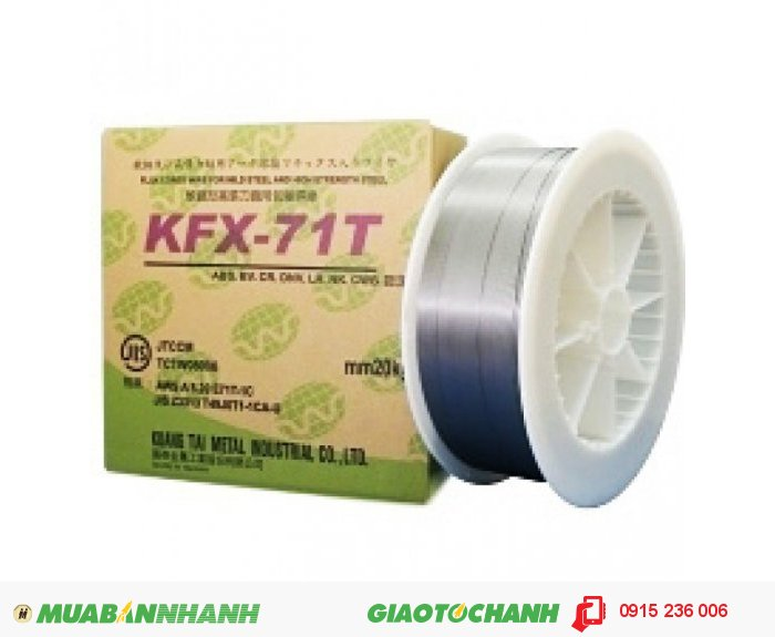 Dây hàn lõi thuốc KFX71T0