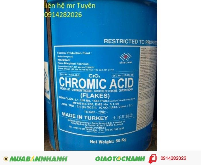 Bán Axit-Cromic-CrO3-(Acid-Chromic) Giá Cạnh Tranh nhất0