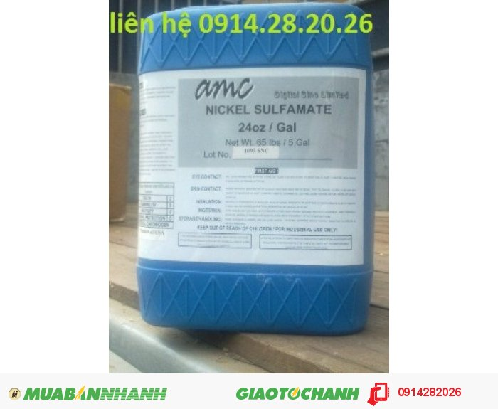 Bán Nickel Sulfamate- Ni(NH2SO3)2™, Niken Sulfamate0