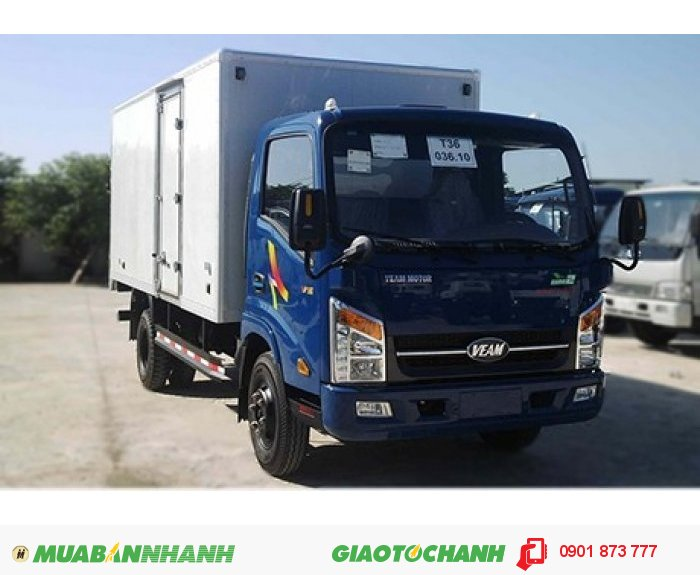 Cần mua xe tải Veam 1.9 tấn 2 tấn máy Hyundai thùng dài 6m giá rẻ nhất ở đâu.