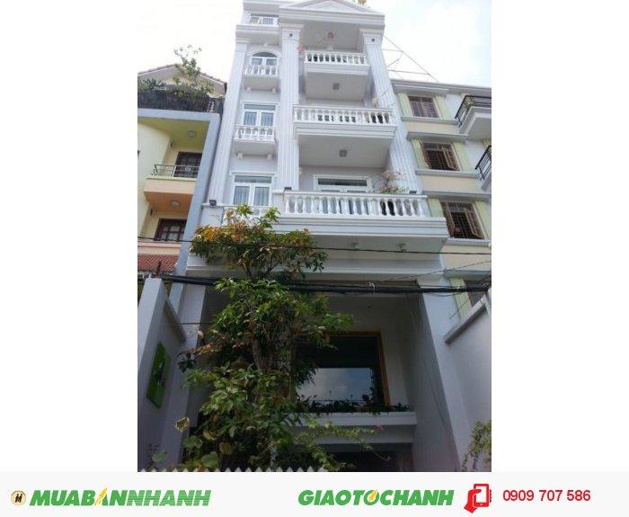 Bán Nhà 5 Lầu Mới Hẻm Nội Bộ 8m Thành Thái 4.7x26, 11.8 Tỷ