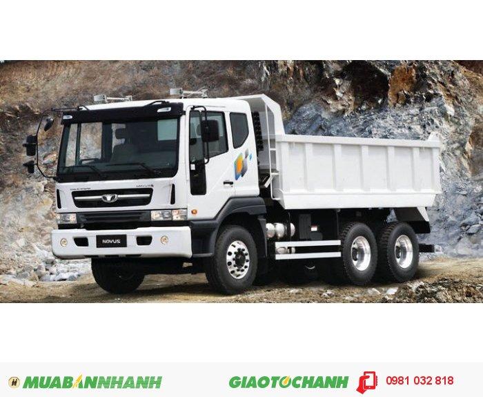 Xe tải benz Daewoo nhập khẩu nguyên chiếc, tải trọng hàng hóa lên tới 15 tấn!