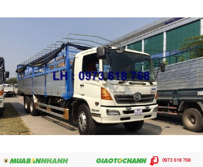 Xe Hino 3 chân 16 tấn thùng kín 7m8, Hino FL8JTSA, giao xe toàn Quốc 0