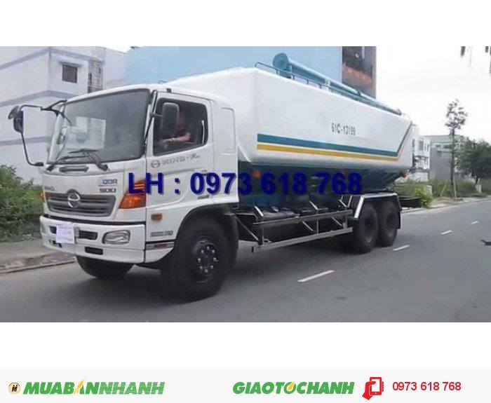 Xe Hino 3 chân 16 tấn thùng kín 7m8, Hino FL8JTSA, giao xe toàn Quốc