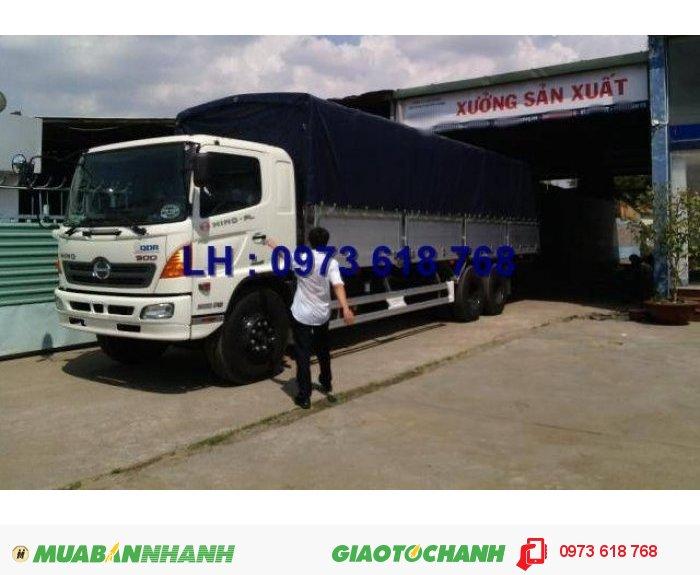 Xe Hino 3 chân 16 tấn thùng kín 7m8, Hino FL8JTSA, giao xe toàn Quốc 3