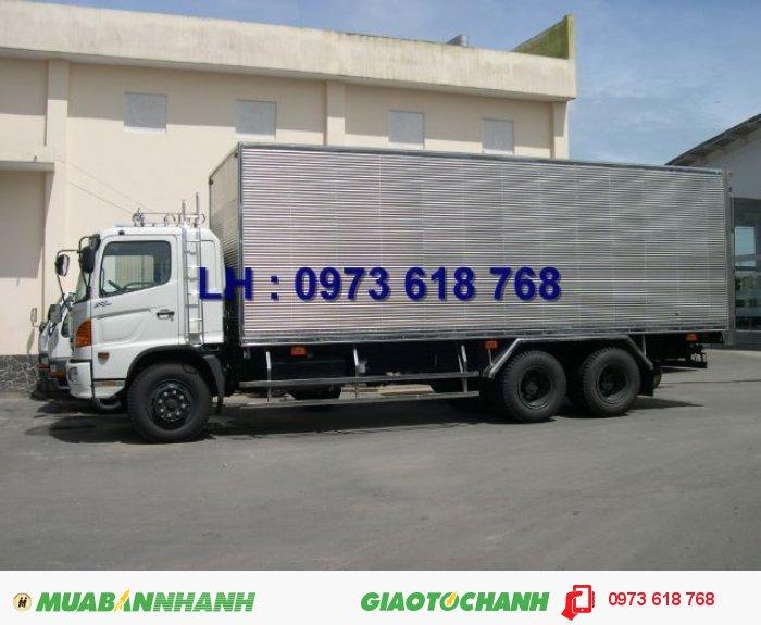 Tổng Đại lý xe tải Hino Bán Hino 16 tấn thùng 7m8, giá rẻ