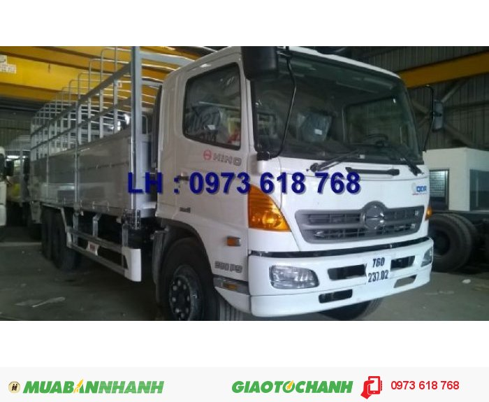 Tổng Đại lý xe tải Hino Bán Hino 16 tấn thùng 7m8, giá rẻ 3