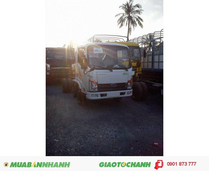 Bán xe tải Veam 2.4 tấn VT252 máy Hyundai rẻ nhất, Mua xe tải Veam Vt252 2.4 tấn trả góp
