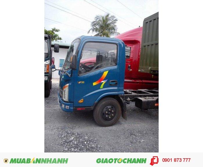 Bán xe tải Veam 2.4 tấn VT252 máy Hyundai rẻ nhất, Mua xe tải Veam Vt252 2.4 tấn trả góp 2