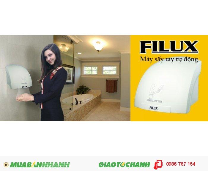 Máy sấy tay FILUX Y1003, máy sấy tay nhà hàng khách sạn giá rẻ.