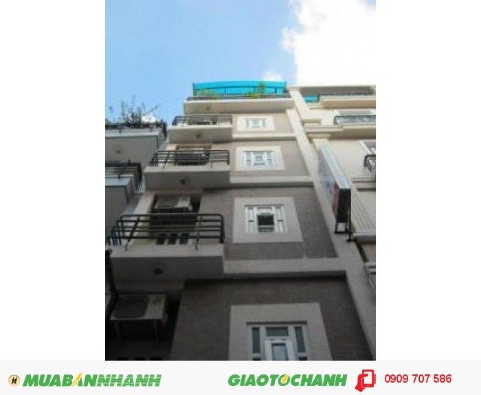 Bán nhà MT Nguyễn Ngọc Lộc, Q.10, 4x25m, hầm, 6 lầu, 20 phòng