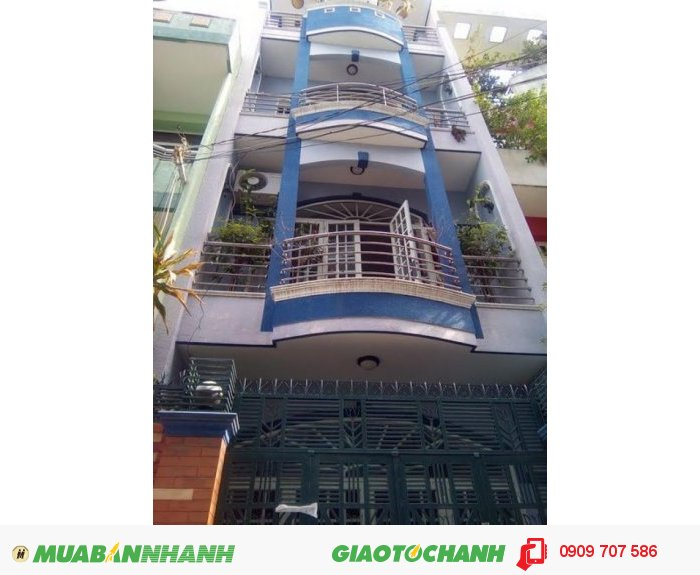 Bán nhà MT Lê Văn Sỹ, P.13, Quận 3, 3,65mx15m, 3 lầu, 12 tỷ