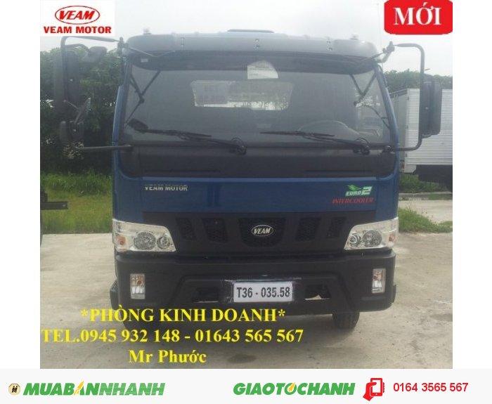 Xe tải Veam 4.9 tấn, Veam VT490 4.9 tấn thùng mui bạt 0