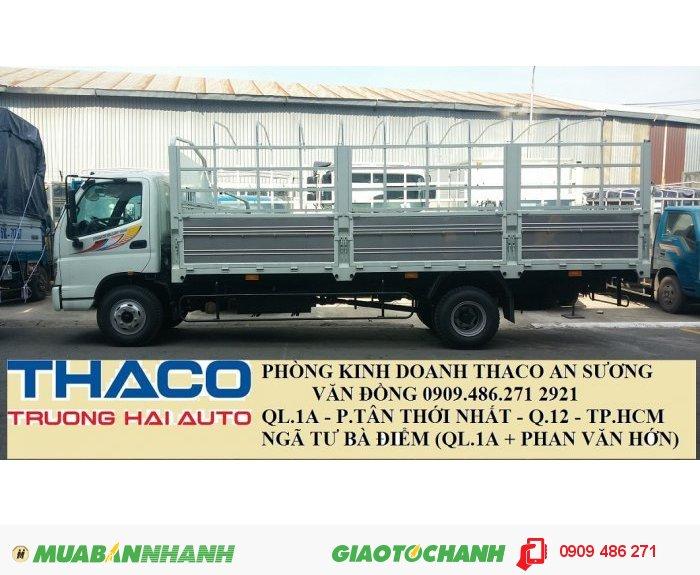Xe tải 7 tấn thaco ollin 700B trường hải an sương 0