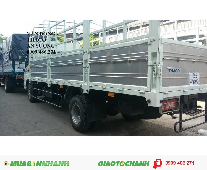 Xe tải 7 tấn thaco ollin 700B trường hải an sương 1
