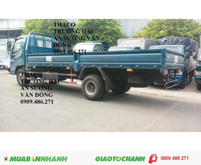 Xe tải 7 tấn thaco ollin 700B trường hải an sương 4