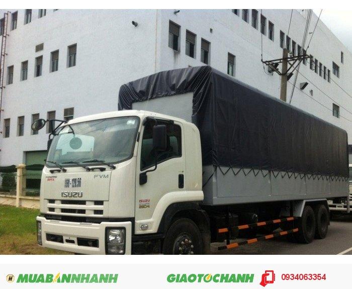Bán xe Tải ISUZU  16 tấnThùng Mui Bạt Thùng Kín trả góp lãi suất thấp