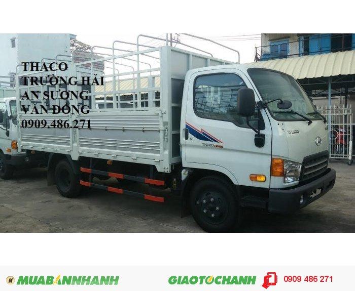 Xe tải huyndai HD650 6,4 tấn trường hải an sương