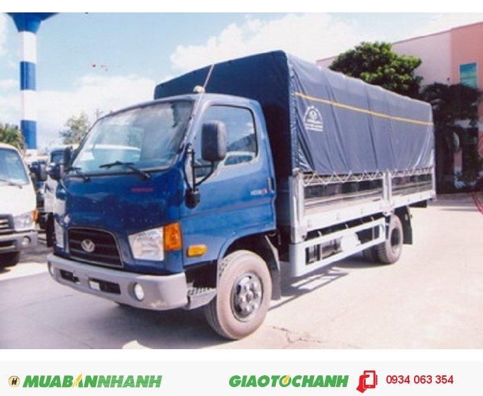 Xe tải Hyundai HD98S, 5,9 tấn nhập khẩu 3 cục từ Hàn Quốc chính hãng