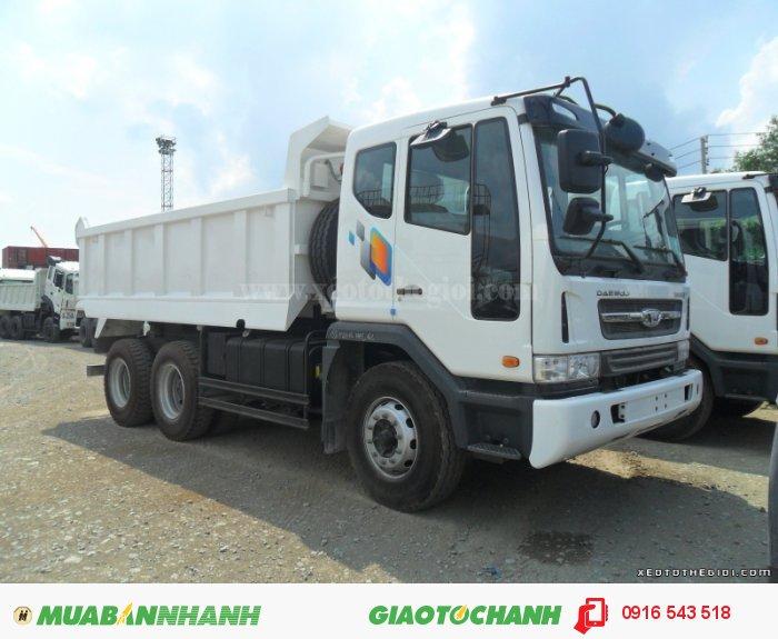 Xe tải benz Daewoo nhập,  Daewoo Dump Truck K4DEF 0