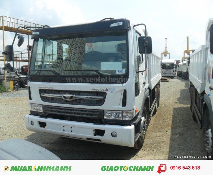 Xe tải benz Daewoo nhập,  Daewoo Dump Truck K4DEF 1