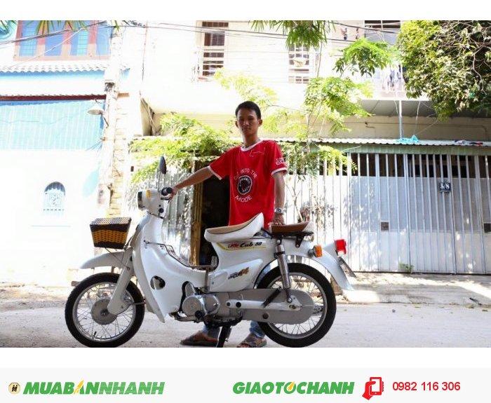 Bán Xe Honda Cub Lun Châu Âu, Có Đề Mới Leng Keng 2