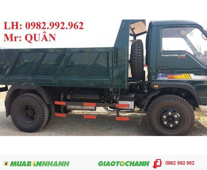 Thông tin Bán xe Thaco Forland FLD 490C 2012, tải trọng 5 tấn, giá rẻ nhất