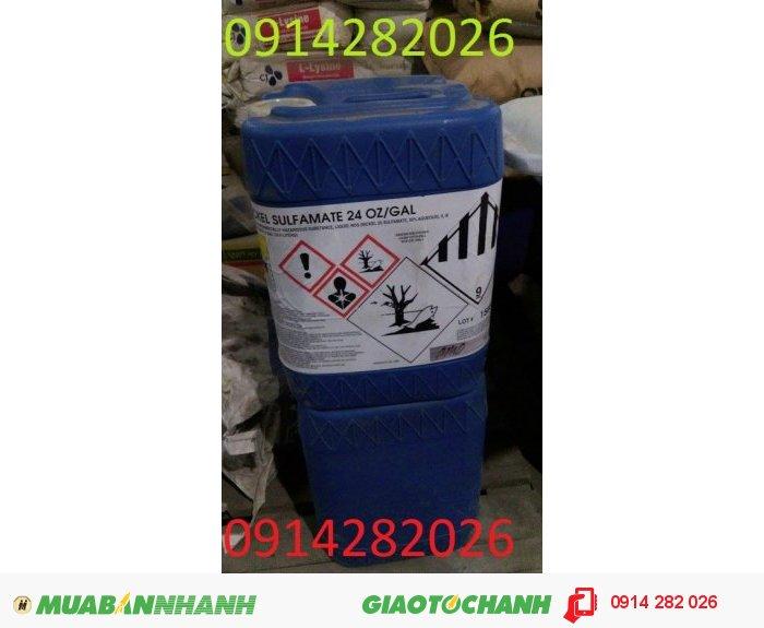 Bán Nickel Sulfamate- Ni(NH2SO3)2™, Niken Sulfamate1