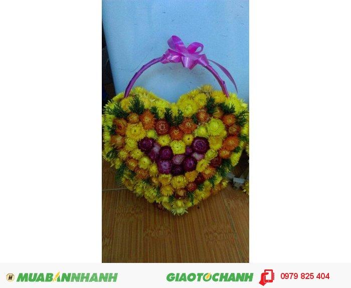Gỉo hoa bất tử hình trái tim1