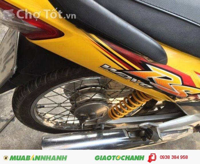 Xe số Wave Rs 100 vàng đen chính chủ