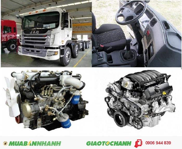 Công ty bán xe tải 5 chân 22 tấn/22T trả góp/nơi bán xe tải Jac 340Hp 22 tấn/22T máy Weichai rẻ nhất 1