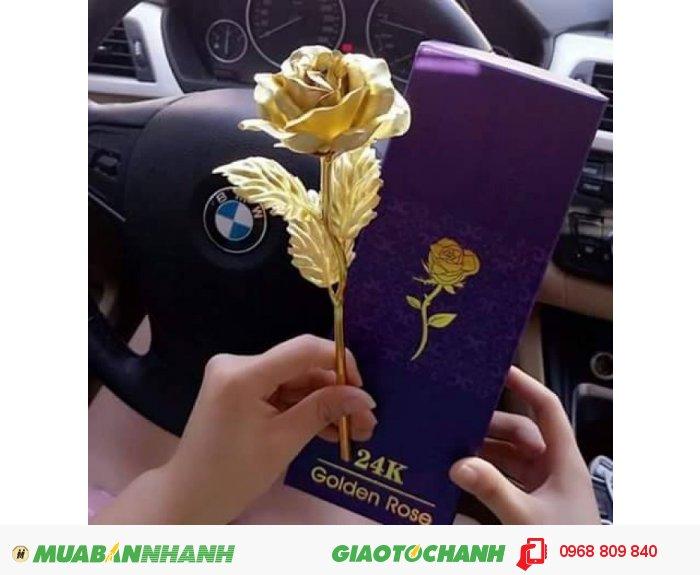 Hoa hồng mạ vàng.Qùa tặng đẳng cấp, sang trọng, lịch thiệp. Giá 400k.0