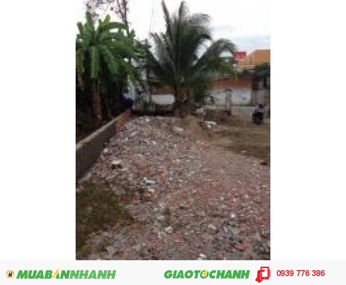 Bán nền hẻm đường Hoàng Quốc Việt, dt: 4x15, đất vườn, hướng đông nam , giá 200 triệu