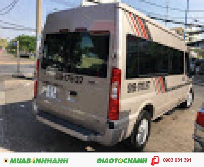 Cho thuê xe hợp đồng 16 chổ ford transit 2016