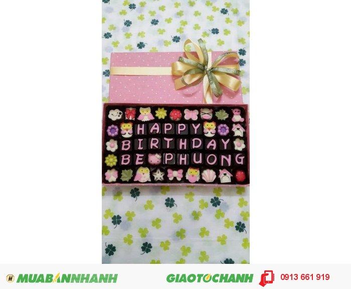 Quà tặng, quà lưu niệm, túi xách thời trang, nến tạo hình, socola tươi3