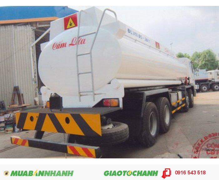 Xe tải Daewoo 4 chân M9AEF đóng bồn chở xăng dầu thể tích 22m3. 1