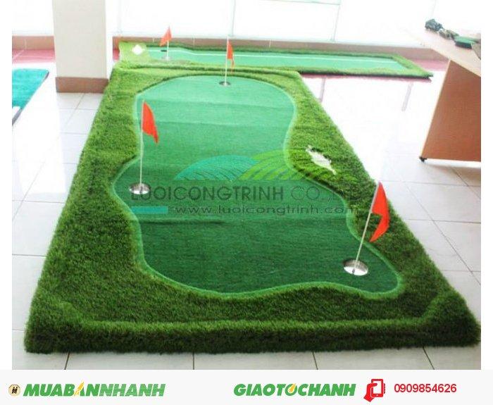 Thảm gạt, sân gạt, putting Green1