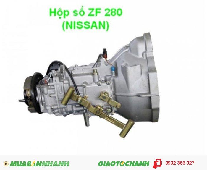 Xe tải 6,5 tấn mới động cơ nhập khẩu thùng dài 6,2m máy Nissan