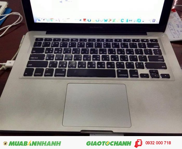 MacbookPro 13inch, late 2011 | Ổ cứng: 500 gb